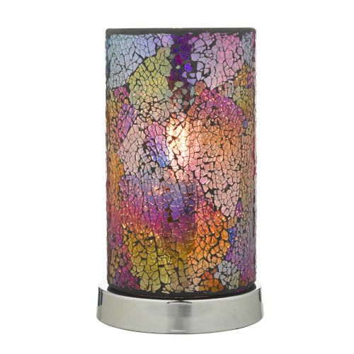 Hakan multi-coloured touch table lamp HAK4255